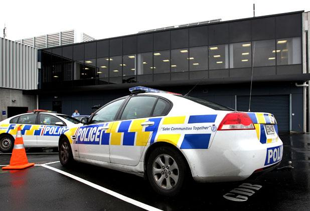 New Plymouth police station