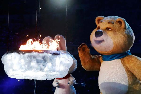 Sochi closing ceremony