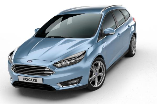 Facelifted Ford Focus.