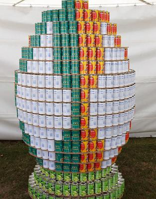 Creative Canstruction