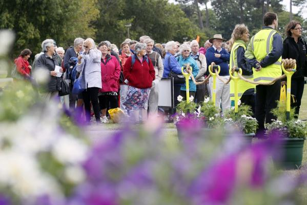 Ellerslie Flower Show gates open