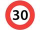 30 kmh speed limit