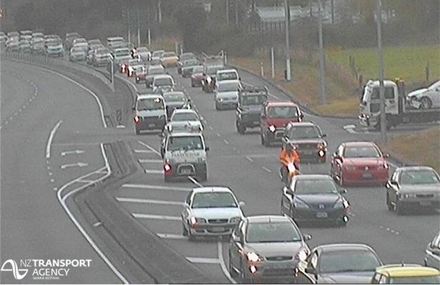 NZTA webcam - crash on SH2