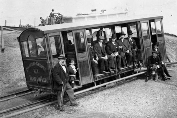 Flashback: Wellington cable car