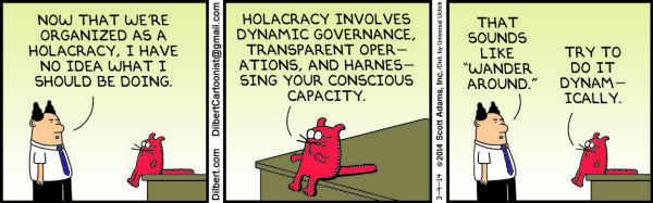 Tuesday, March 4: Dynamic holacracy