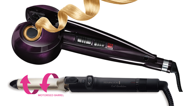 CURL MAKERS: From top, VS Sassoon Curl Secret, $249.99, and Remington ...