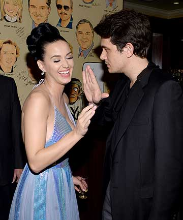 Katy Perry and John Mayer.