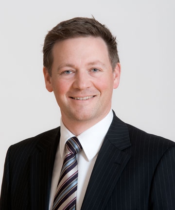 New Zealand Post chief financial officer Mark Yeoman