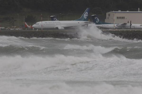 Wellington storm, March 2014