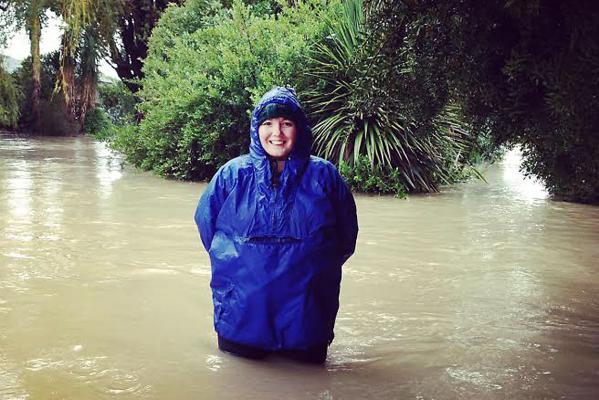 Heathcote river flooding