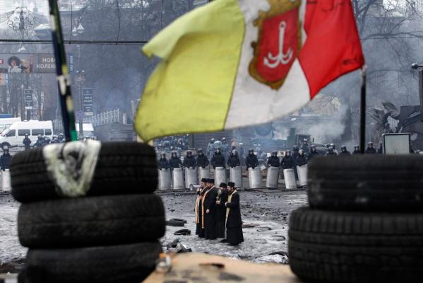Ukraine crisis in pictures