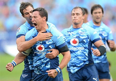 The Blues got beaten at their own game by the Bulls in Pretoria early today.