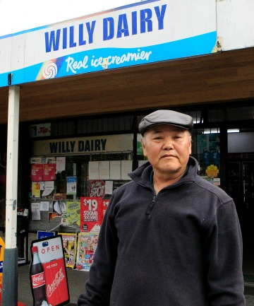 Willy Dairy owner Keun Mook Yook