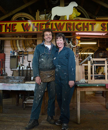 The Wheelwright Shop