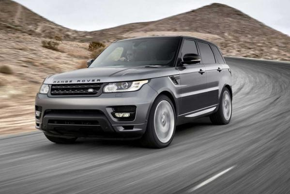 2014 World Luxury Car of the Year finalist: Range Rover Sport.