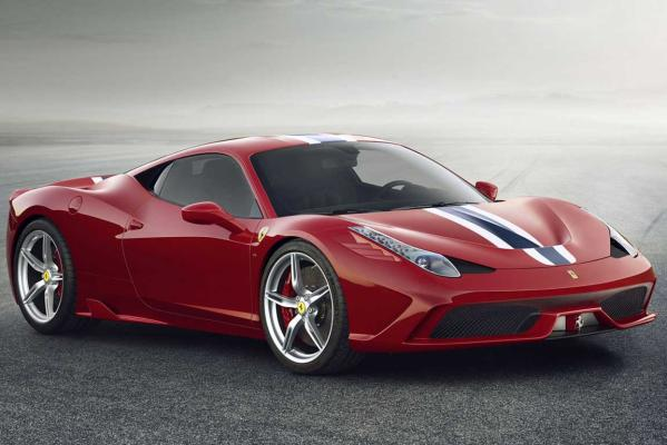 2014 World Performance Car of the Year finalist: Ferrari 458 Speciale.