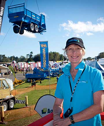 Cheryl Riddell, event manager for Central Districts Field Days at Manfeild Park in Feilding.