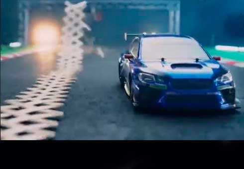 Japanese carmaker creates sensational viral video inspired by Ken Block's Gymkhana series.