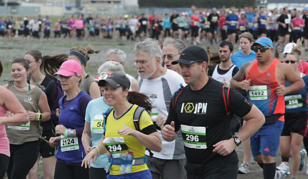 Christchurch airport marathon