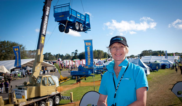 Cheryl Riddell Central Districts Field Days
