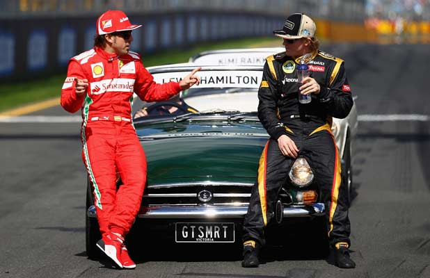 Fernando Alonso and Kim