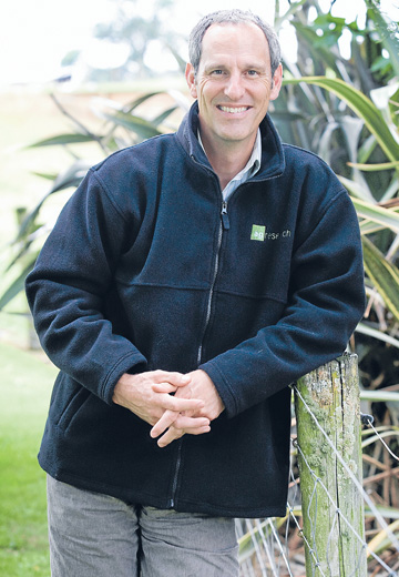 AgResearch chief executive Tom Richardson