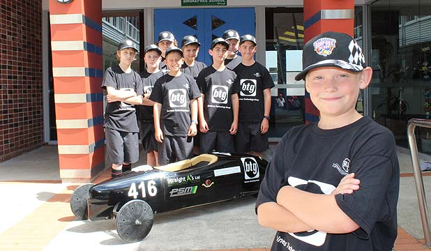 Remuera INtermediate Soapbox Derby