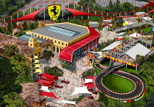 Ferrari Land theme park