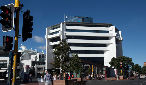 The Quay St building where Oravida is based.