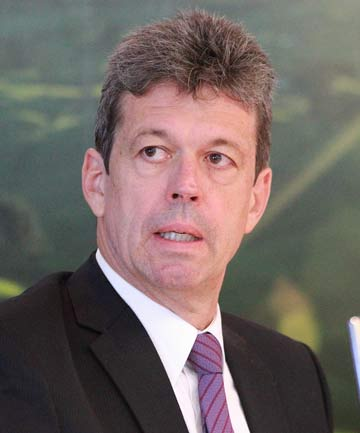 Fonterra's chief financial officer Lukas Paravicini