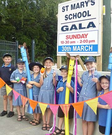 St Mary's School students