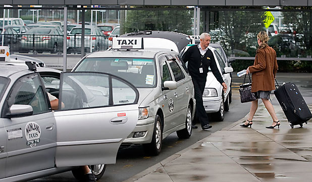 Christchurch Airport taxis