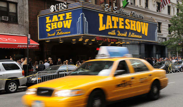 David Letterman Ed Sullivan theatre