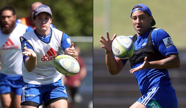 Simon Hickey and Benji Marshall