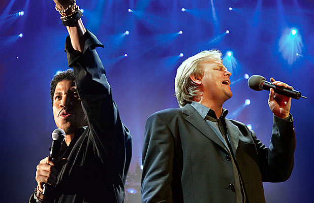 Lionel Richie and John Farnham
