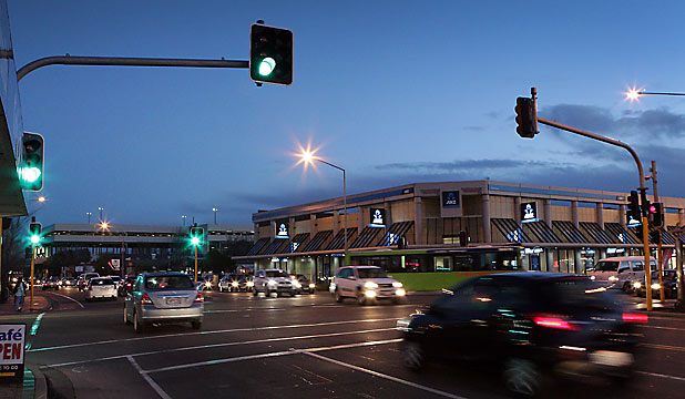 Riccarton Rd and Clarence St intersection