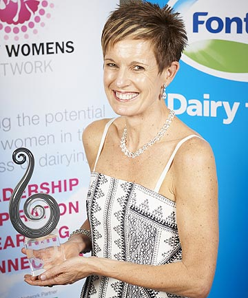 Northland accountant Charmaine O'Shea is the Dairy Women's Network Dairy Woman of the Year.