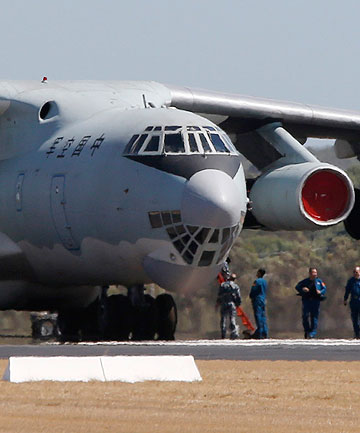 Chinese Air Force Ilyushin Il-76