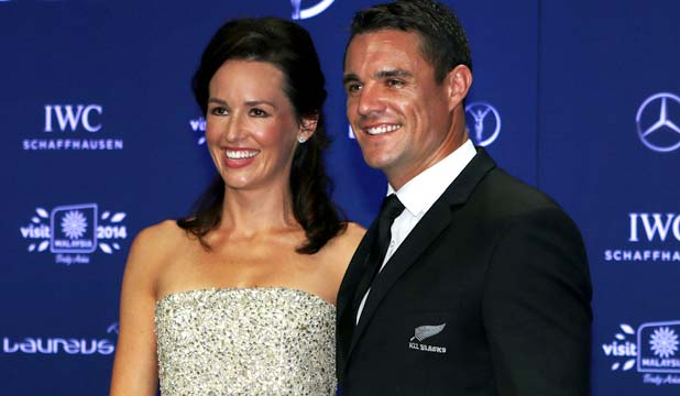 Dan Carter with wife Honor Carter nee Dillon