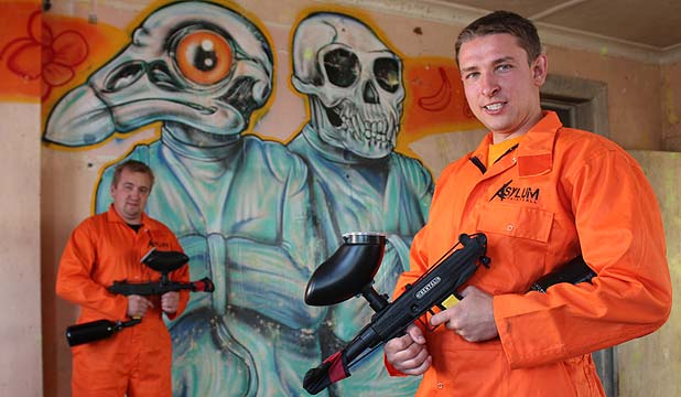 Asylum Paintball owners