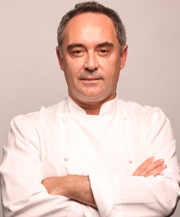 CULINARY ARTIST: Ferran Adria's food is next level creative, but he ...