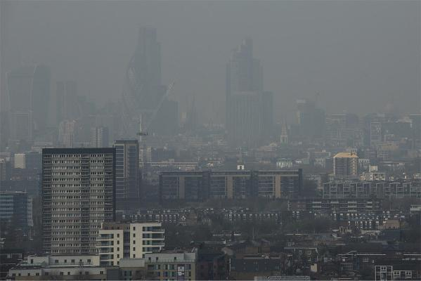 Dust from the Sahara combined with pollution from mainland Europe has contributed to one of the worst smogs of the year in London.
