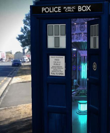 Doctor Who: The Official Virtual Tardis for iOS