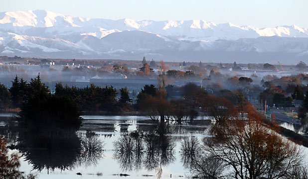Flooding in Hendersons Basin