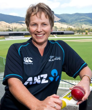 Cricket World Cup volunteer Toni Chittenden