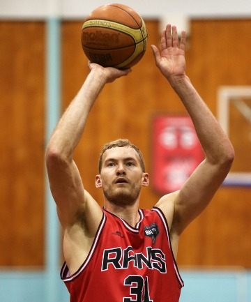 Matthew Rogers of the Rams shoots a free throw