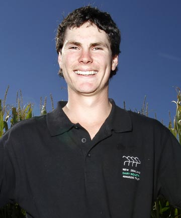 Michael Shearer is the 2014 Taranaki Farm Manager of the Year.