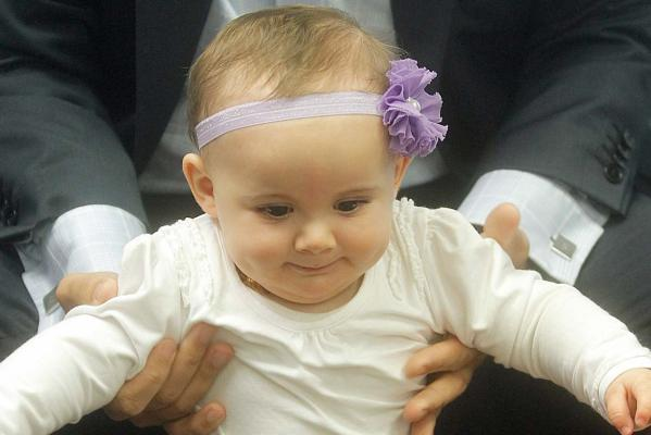 Amelia Hower, Plunket baby to meet Prince George