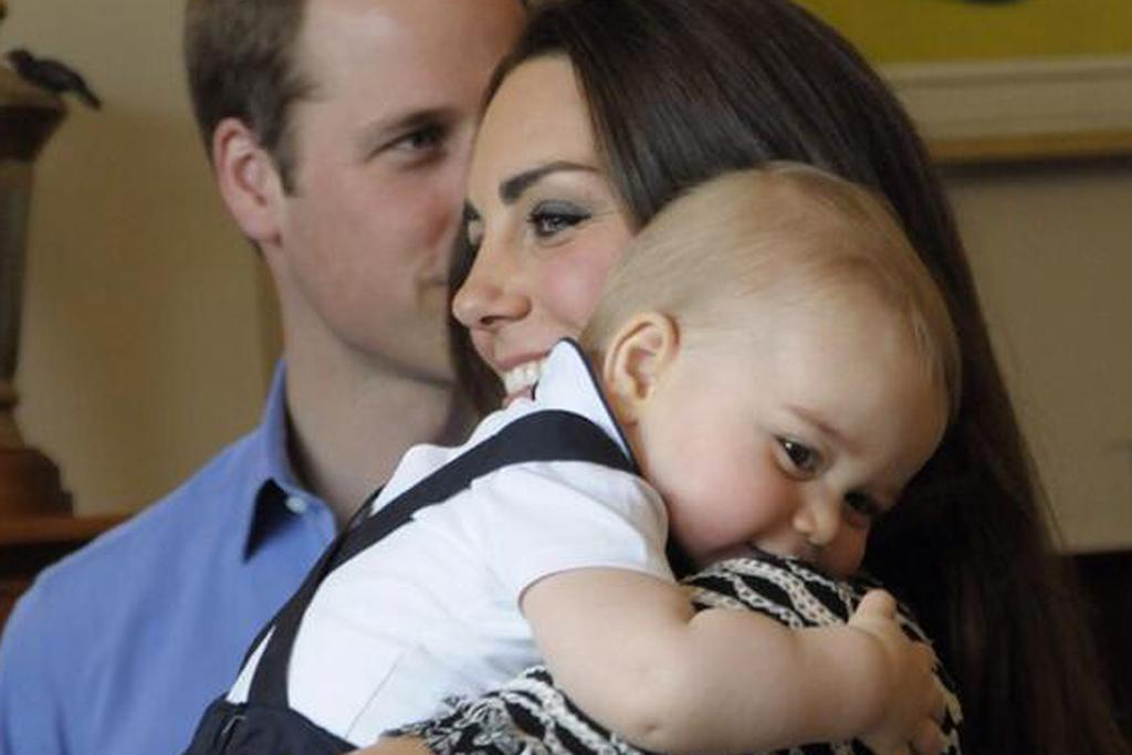 Prince William, Kate and George