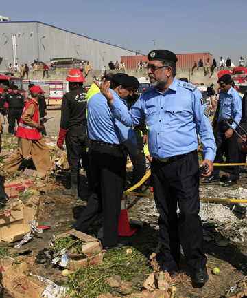 pakistan bomb site